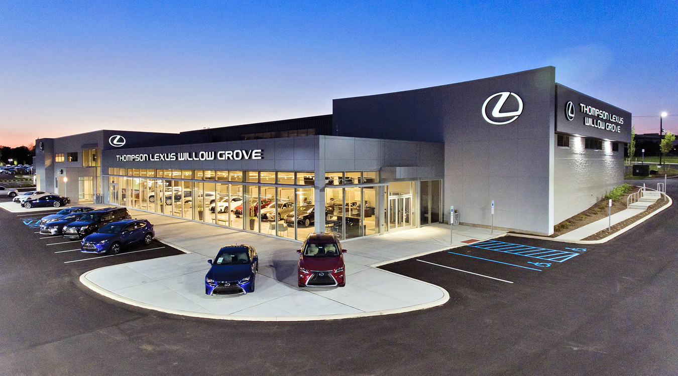Thompson Lexus Willow Grove >> The Thompson Organization Projects